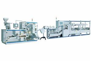 Blister Packing Machine and Automatic Cartoning Machine